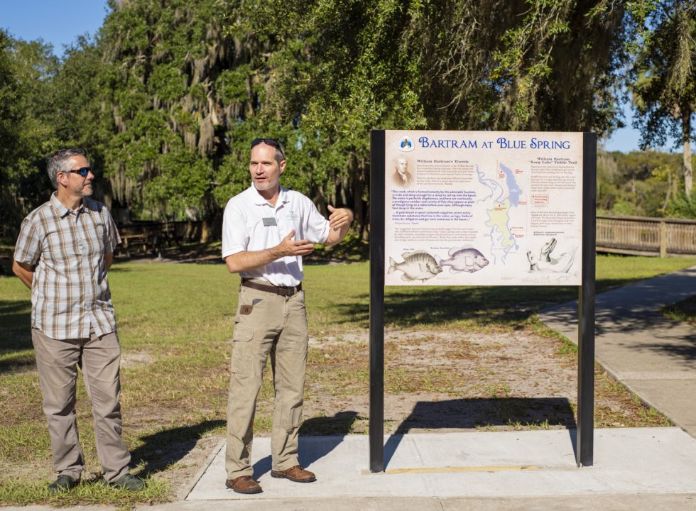 Dr. Abbott and Dr. Evans speak to the connection and sponsorship of Stetson University's Institute for Water and Environmental Resilience.