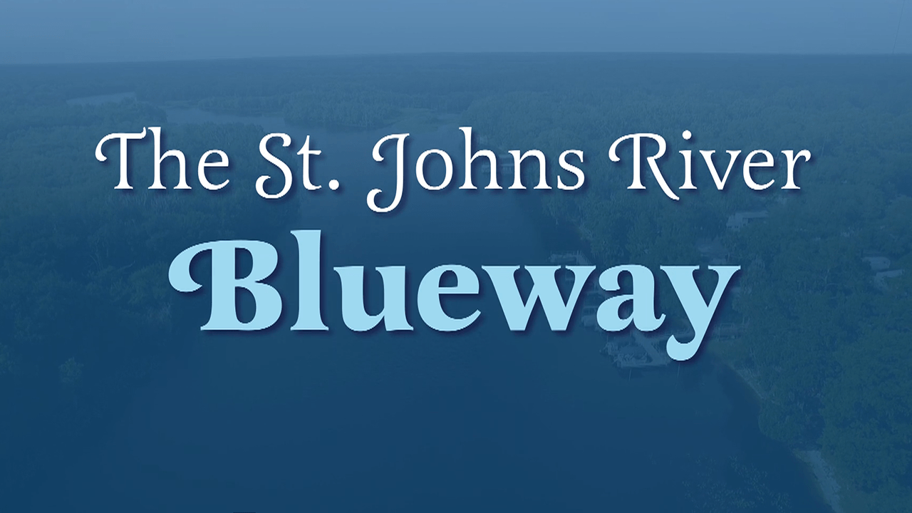 The St. Johns River Blueway title