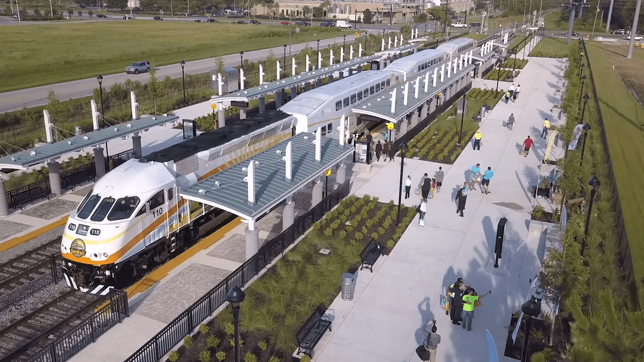 SunRail at Poinciana Station Opening Event
